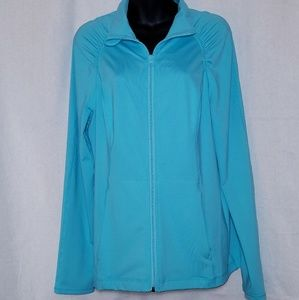 Z by Zella Women's Jacket Ruching Size Large